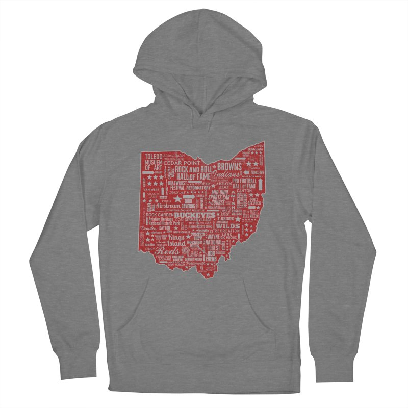 Ohio Destinations Women's Pullover Hoody by EngineHouse13's Artist Shop