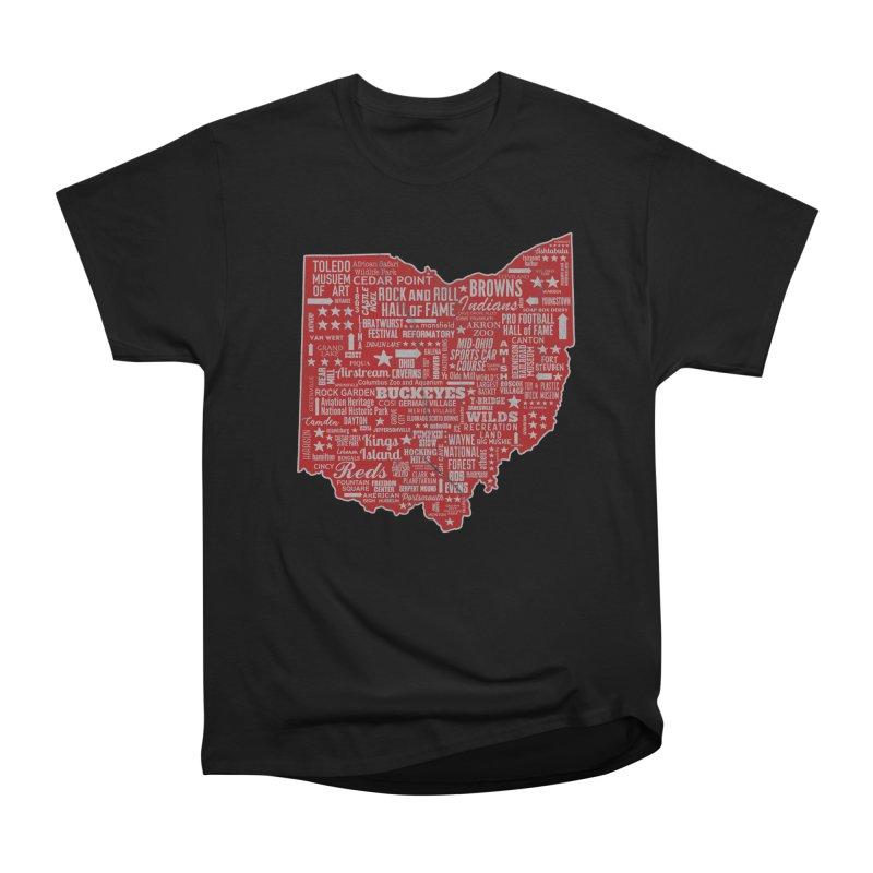 Ohio Destinations Women's Heavyweight Unisex T-Shirt by EngineHouse13's Artist Shop