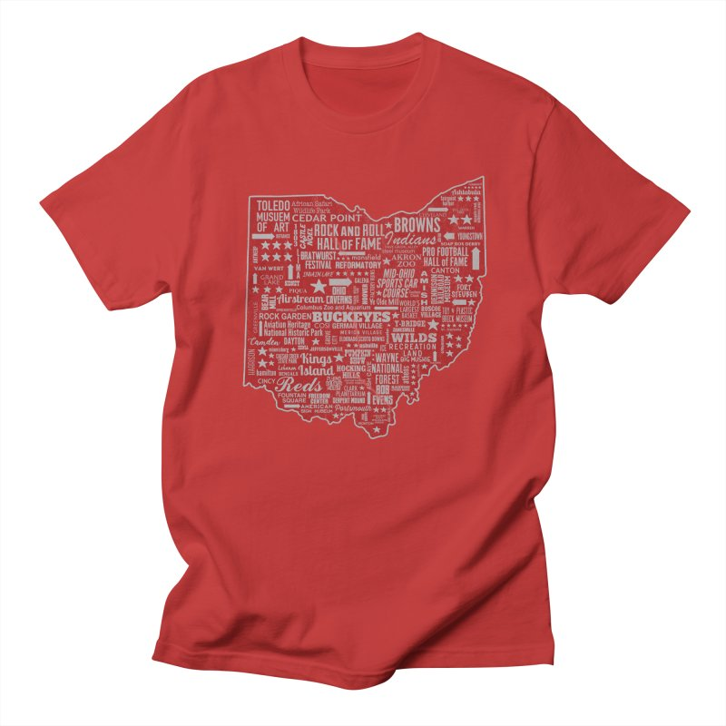 Ohio Destinations Women's T-Shirt by EngineHouse13's Artist Shop