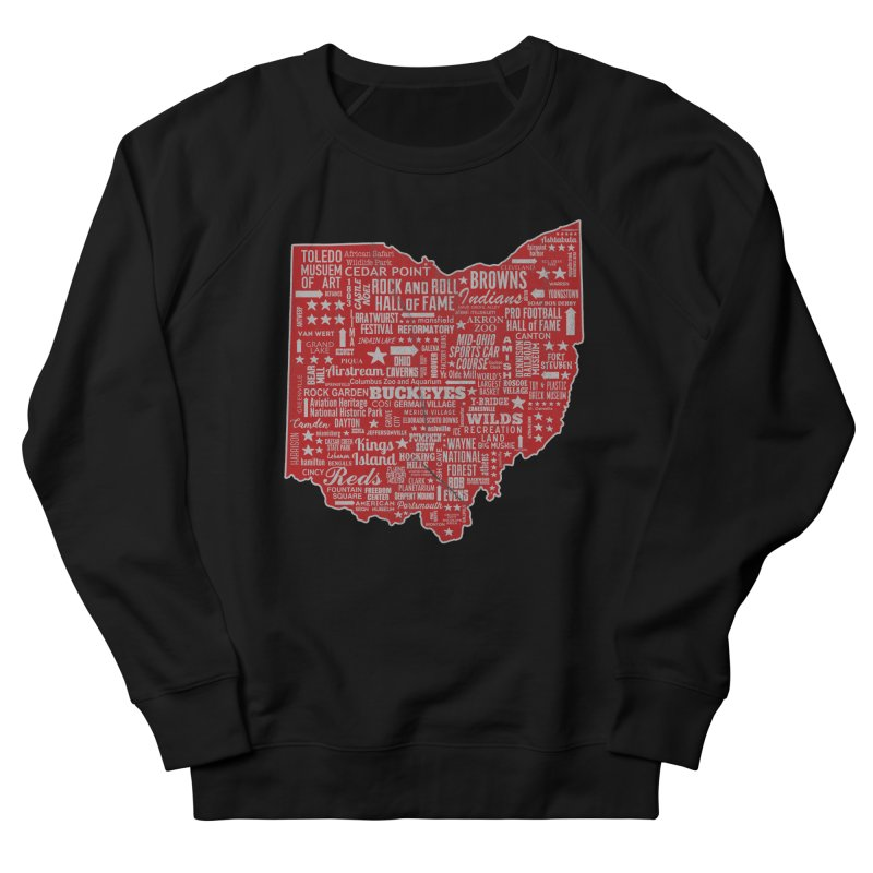 Ohio Destinations Men's French Terry Sweatshirt by EngineHouse13's Artist Shop
