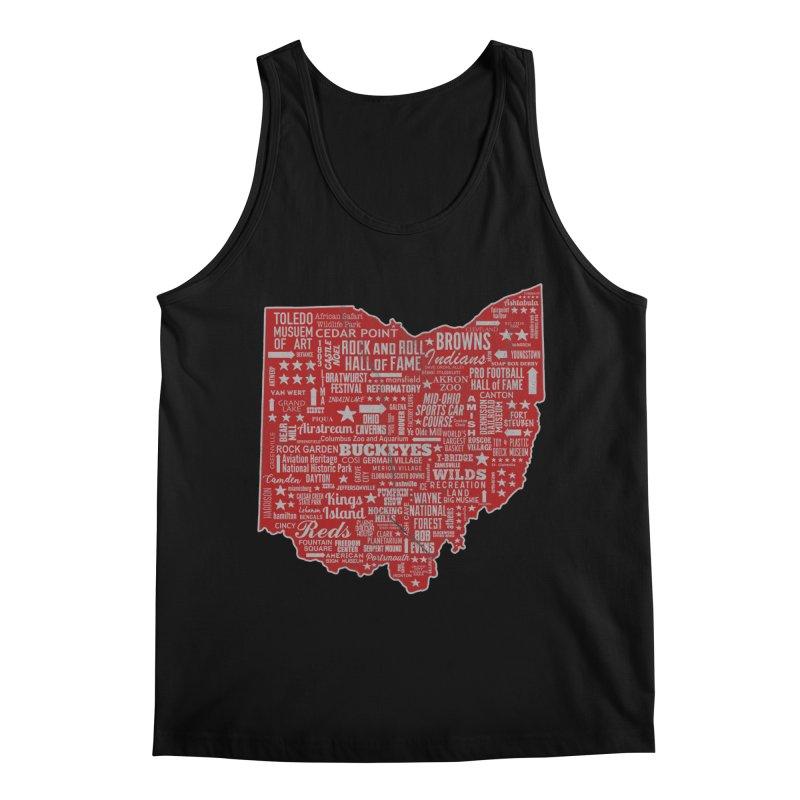 Ohio Destinations Men's Tank by EngineHouse13's Artist Shop