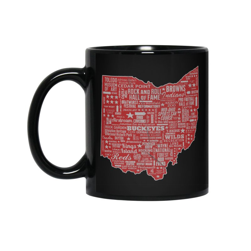 Ohio Destinations Accessories Mug by EngineHouse13's Artist Shop