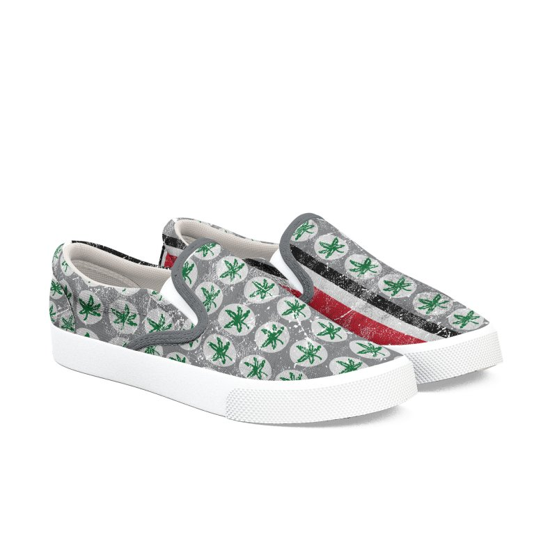 Go Bucks! Men's Shoes by EngineHouse13's Artist Shop