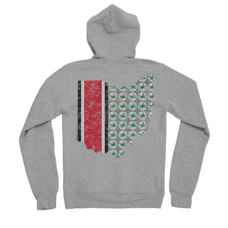 Go Bucks! Women's Sponge Fleece Zip-Up Hoody by EngineHouse13's Artist Shop