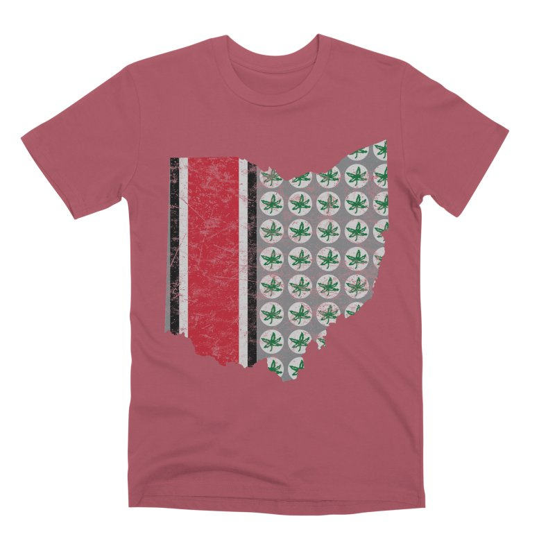 Go Bucks! Men's Premium T-Shirt by EngineHouse13's Artist Shop