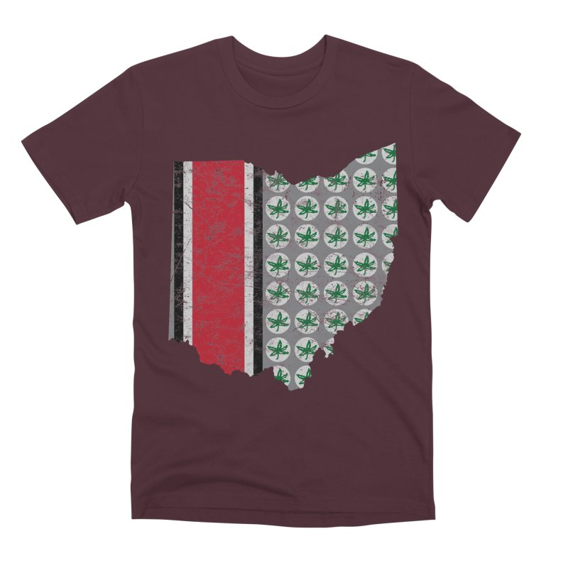Go Bucks! Men's Premium T-Shirt by EngineHouse13's Artist Shop