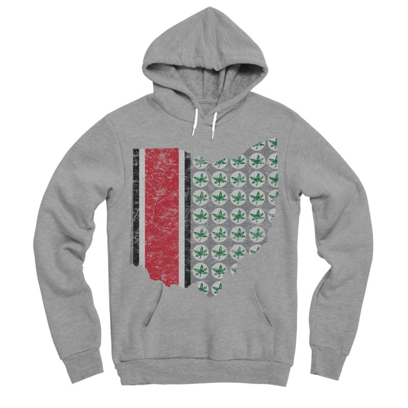 Go Bucks! Women's Sponge Fleece Pullover Hoody by EngineHouse13's Artist Shop