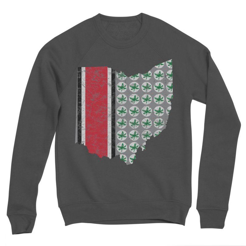 Go Bucks! Men's Sponge Fleece Sweatshirt by EngineHouse13's Artist Shop