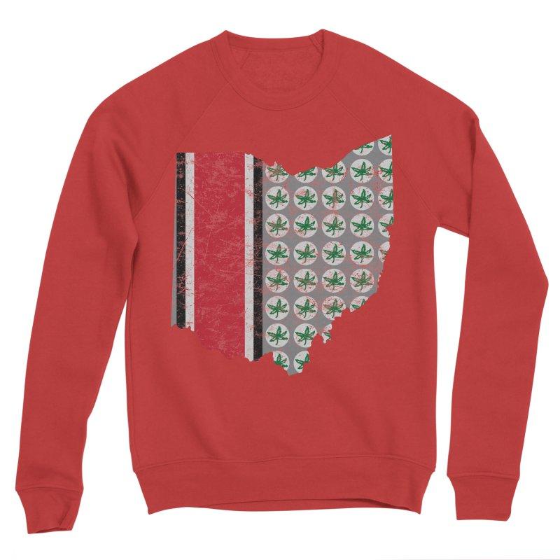 Go Bucks! Men's Sponge Fleece Sweatshirt by EngineHouse13's Artist Shop