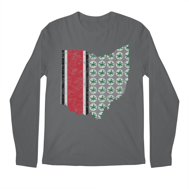 Go Bucks! Men's Regular Longsleeve T-Shirt by EngineHouse13's Artist Shop