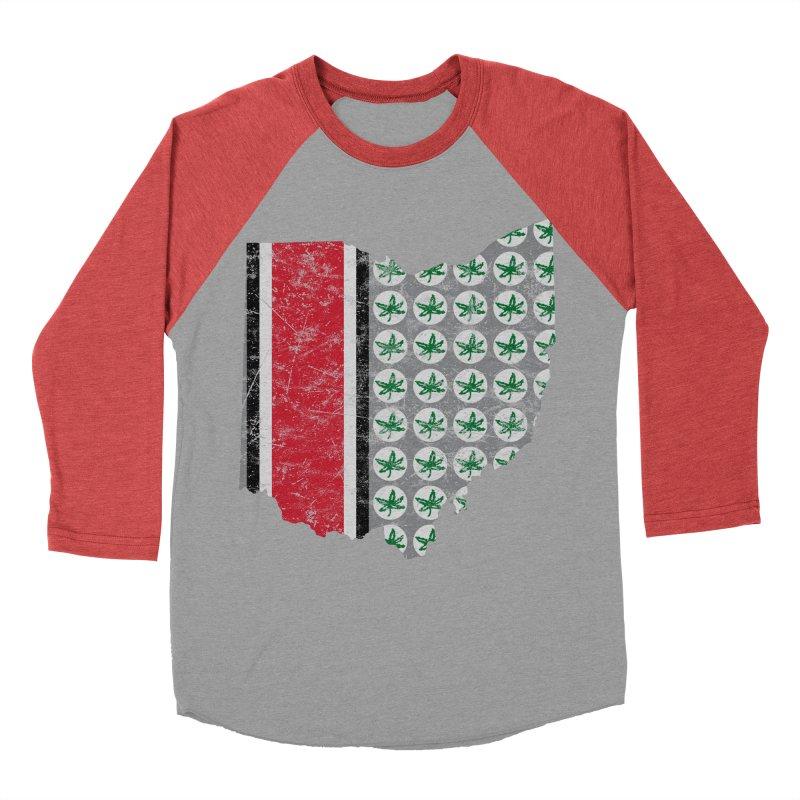 Go Bucks! Women's Baseball Triblend Longsleeve T-Shirt by EngineHouse13's Artist Shop