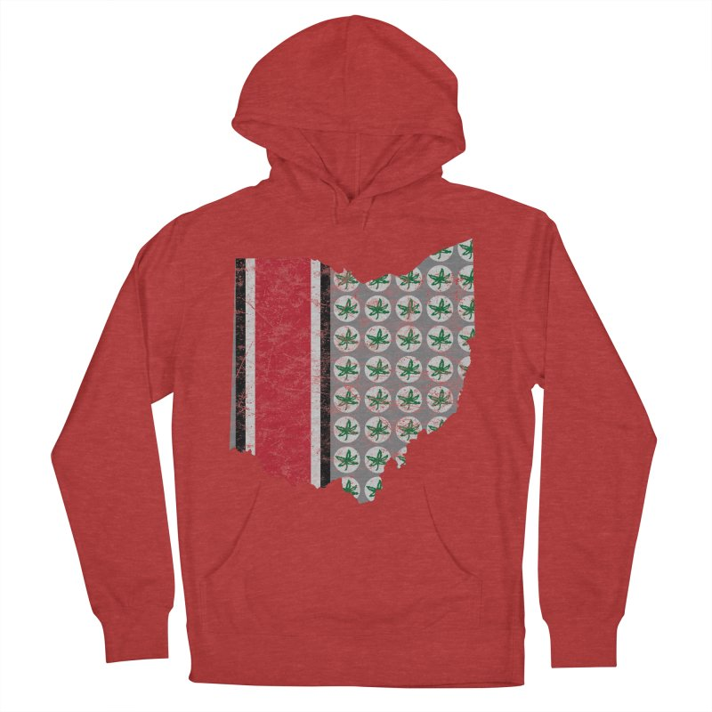 Go Bucks! Women's French Terry Pullover Hoody by EngineHouse13's Artist Shop