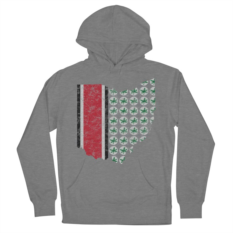 Go Bucks! Men's French Terry Pullover Hoody by EngineHouse13's Artist Shop