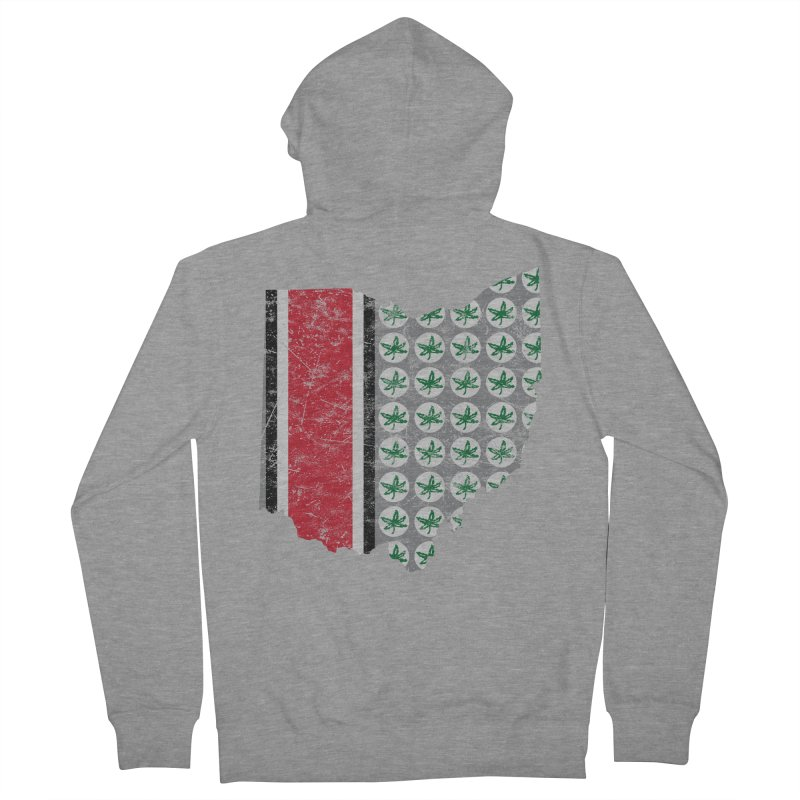 Go Bucks! Women's French Terry Zip-Up Hoody by EngineHouse13's Artist Shop