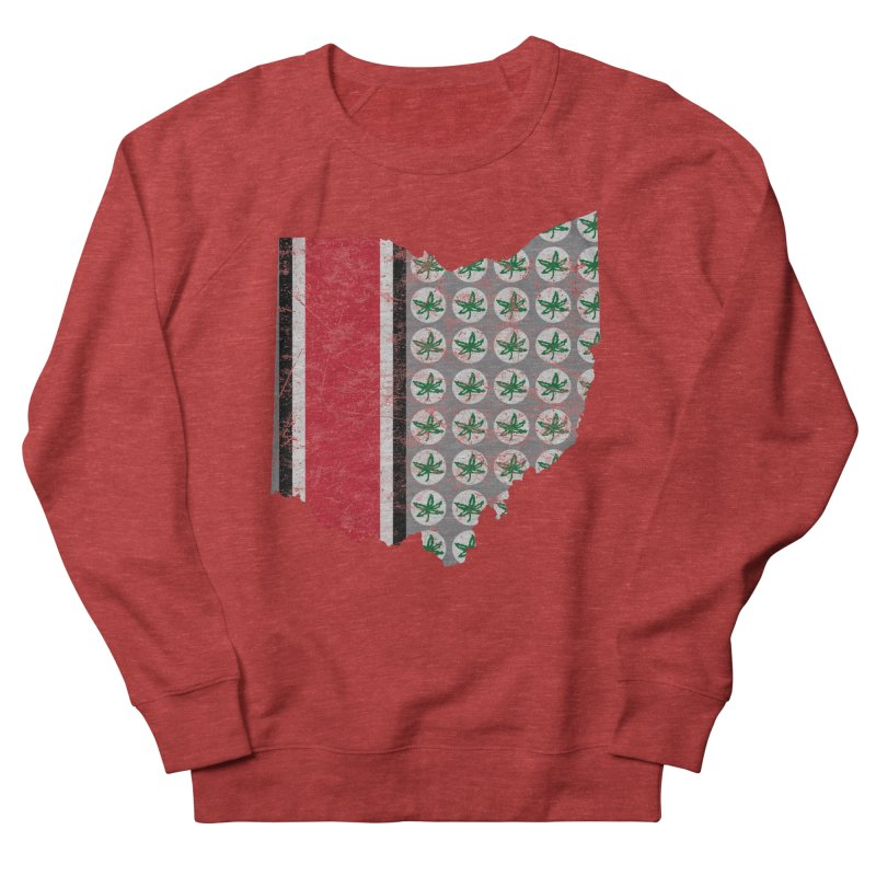 Go Bucks! Women's French Terry Sweatshirt by EngineHouse13's Artist Shop