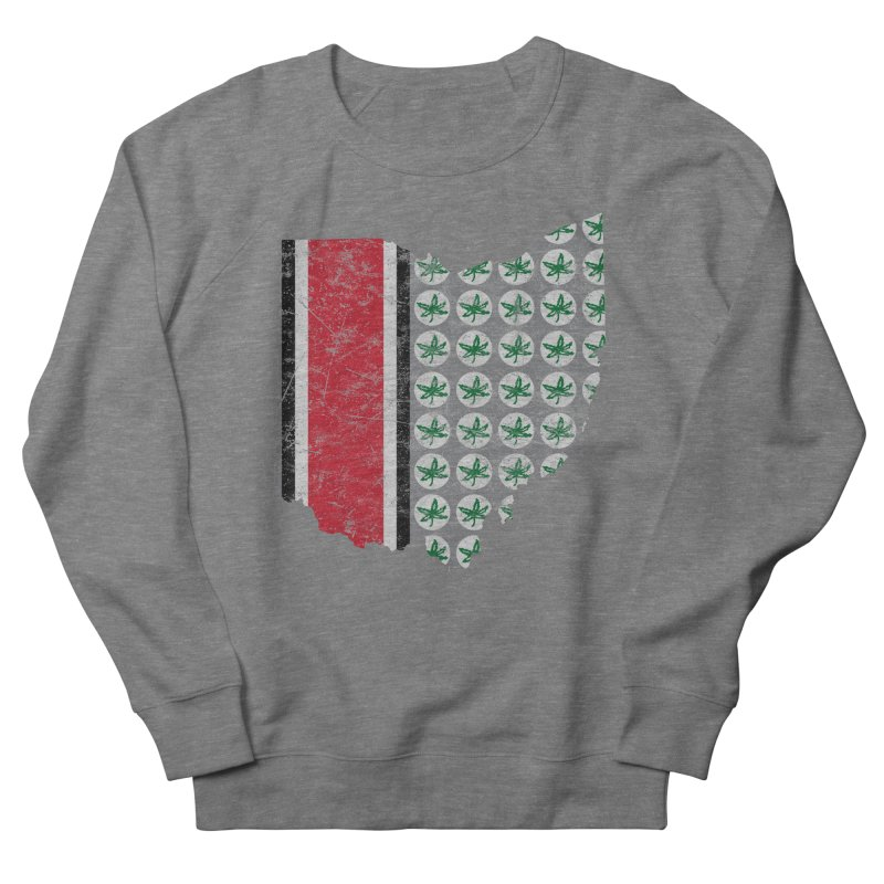 Go Bucks! Men's French Terry Sweatshirt by EngineHouse13's Artist Shop