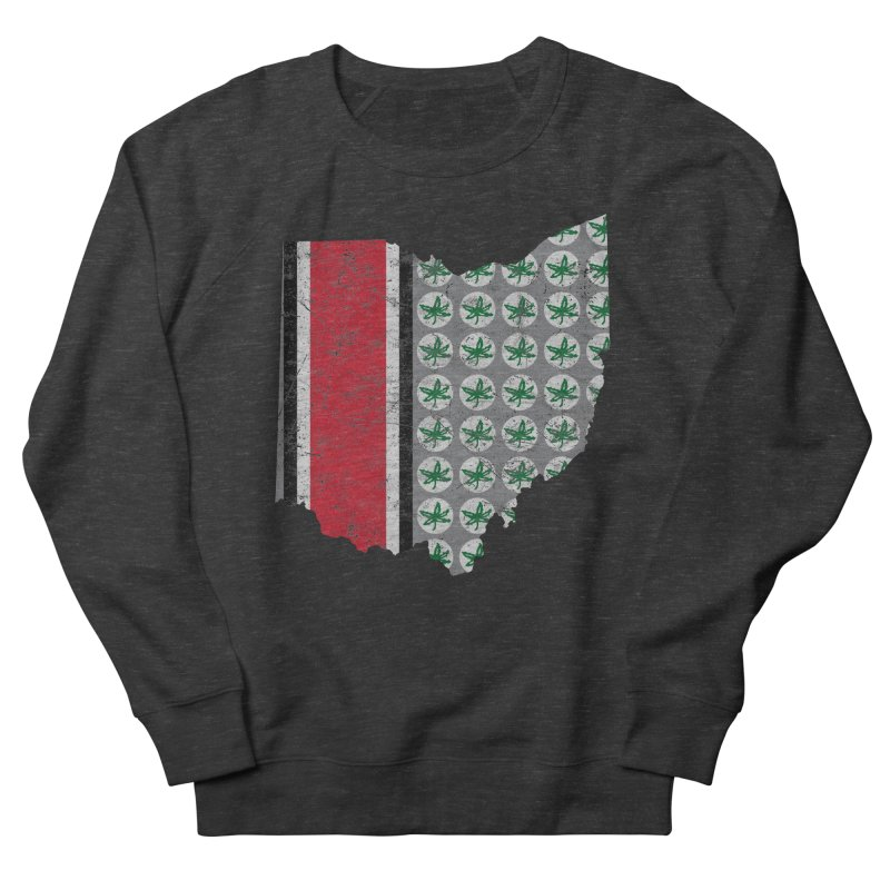 Go Bucks! Men's French Terry Sweatshirt by EngineHouse13's Artist Shop