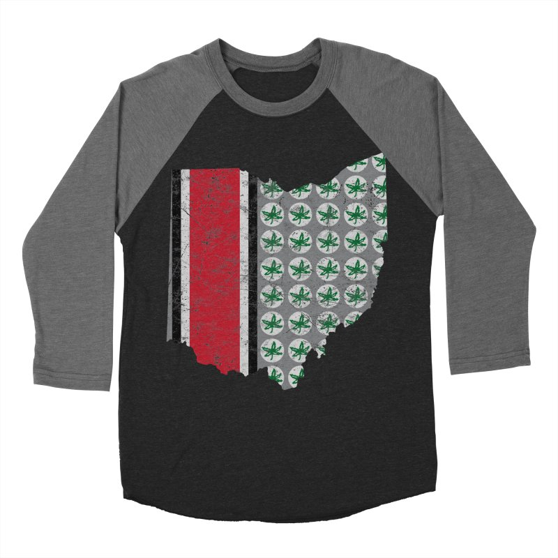 Go Bucks! Women's Baseball Triblend Longsleeve T-Shirt by EngineHouse13's Artist Shop