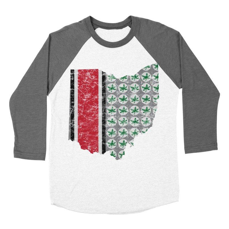 Go Bucks! Men's Baseball Triblend Longsleeve T-Shirt by EngineHouse13's Artist Shop