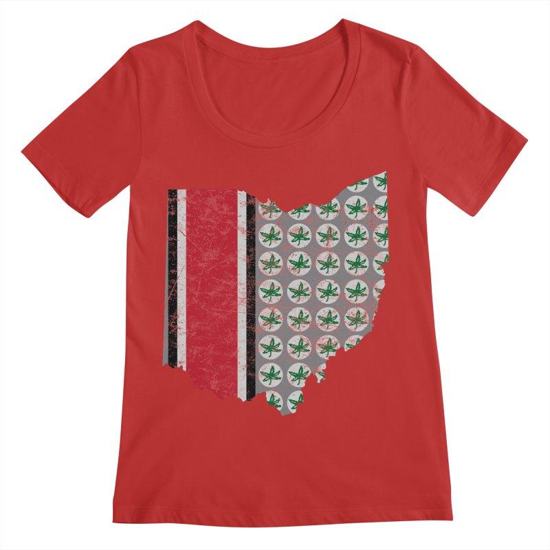 Go Bucks! Women's Scoop Neck by EngineHouse13's Artist Shop
