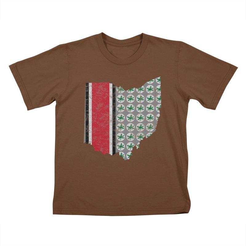 Go Bucks! Kids T-Shirt by EngineHouse13's Artist Shop