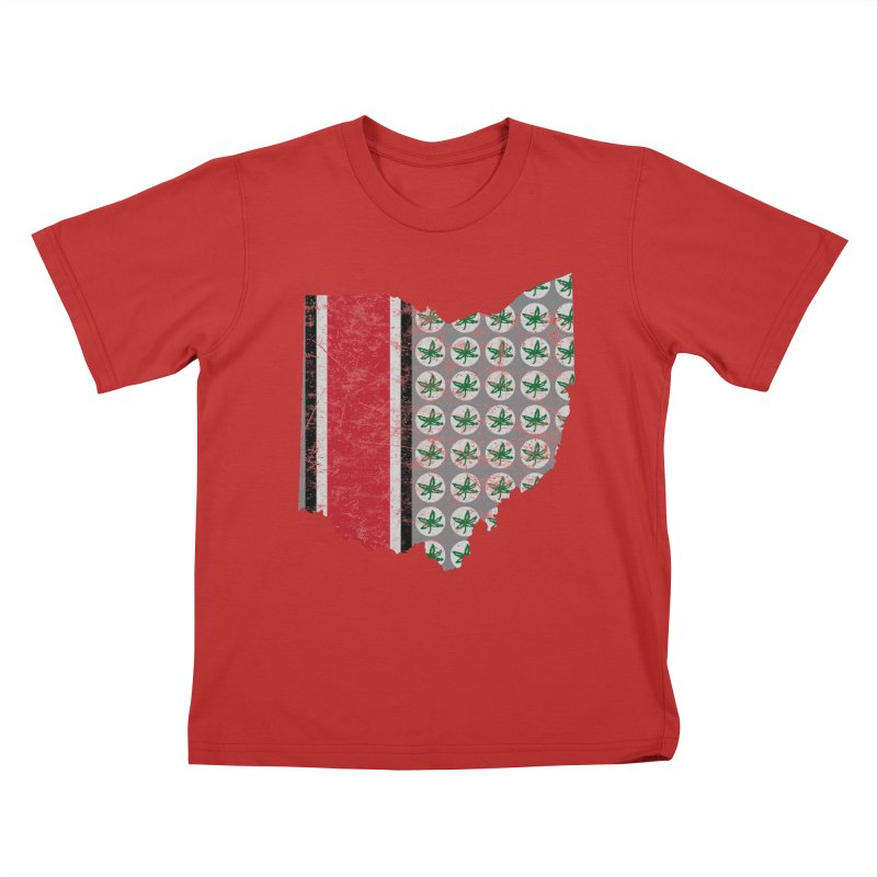 Go Bucks! Kids T-Shirt by EngineHouse13's Artist Shop