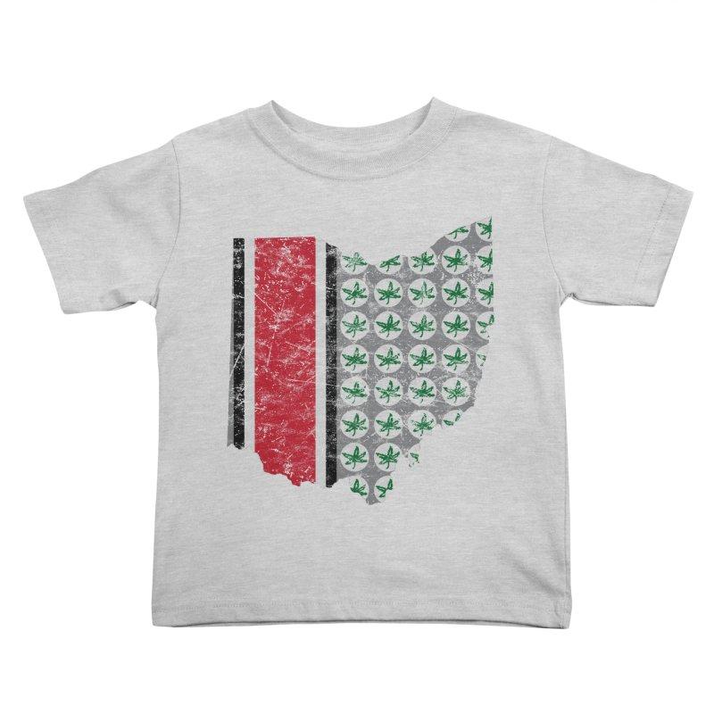 Go Bucks! Kids Toddler T-Shirt by EngineHouse13's Artist Shop