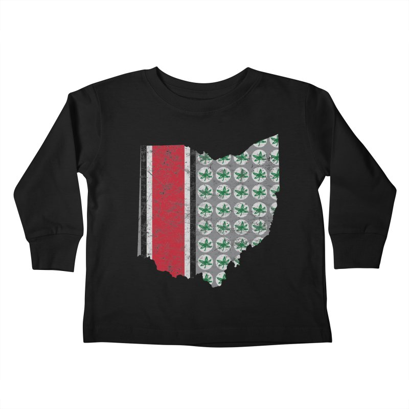 Go Bucks! Kids Toddler Longsleeve T-Shirt by EngineHouse13's Artist Shop