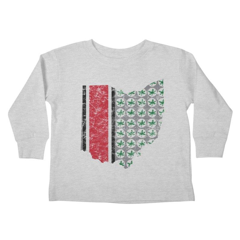 Go Bucks! Kids Toddler Longsleeve T-Shirt by EngineHouse13's Artist Shop
