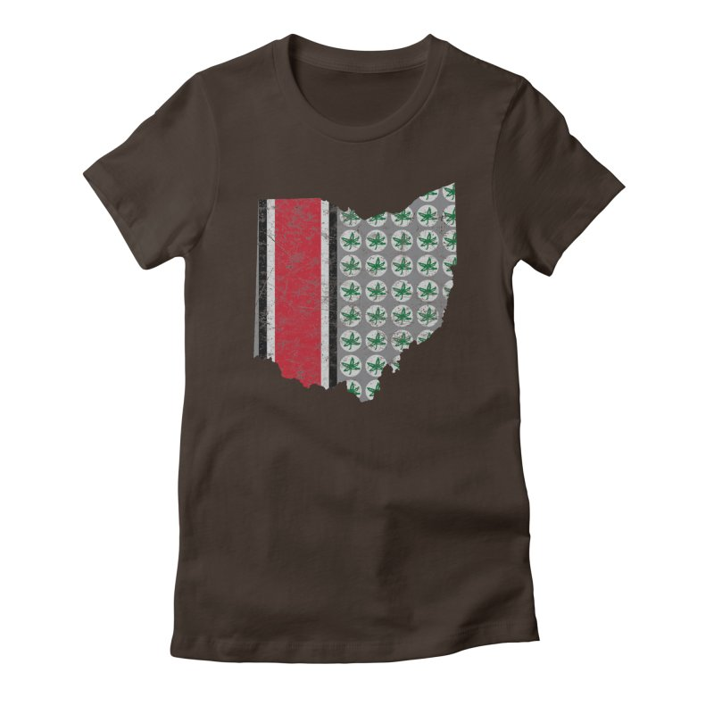 Go Bucks! Women's Fitted T-Shirt by EngineHouse13's Artist Shop