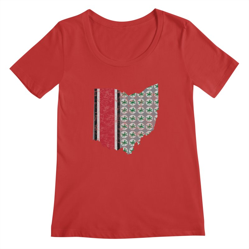 Go Bucks! Women's Regular Scoop Neck by EngineHouse13's Artist Shop