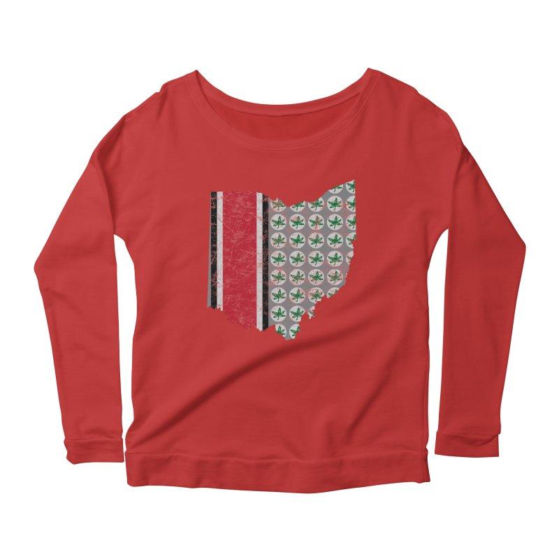Go Bucks! Women's Scoop Neck Longsleeve T-Shirt by EngineHouse13's Artist Shop