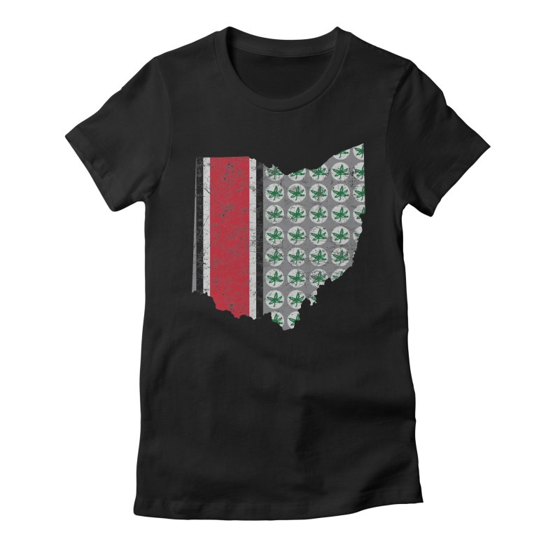 Go Bucks! Women's Fitted T-Shirt by EngineHouse13's Artist Shop