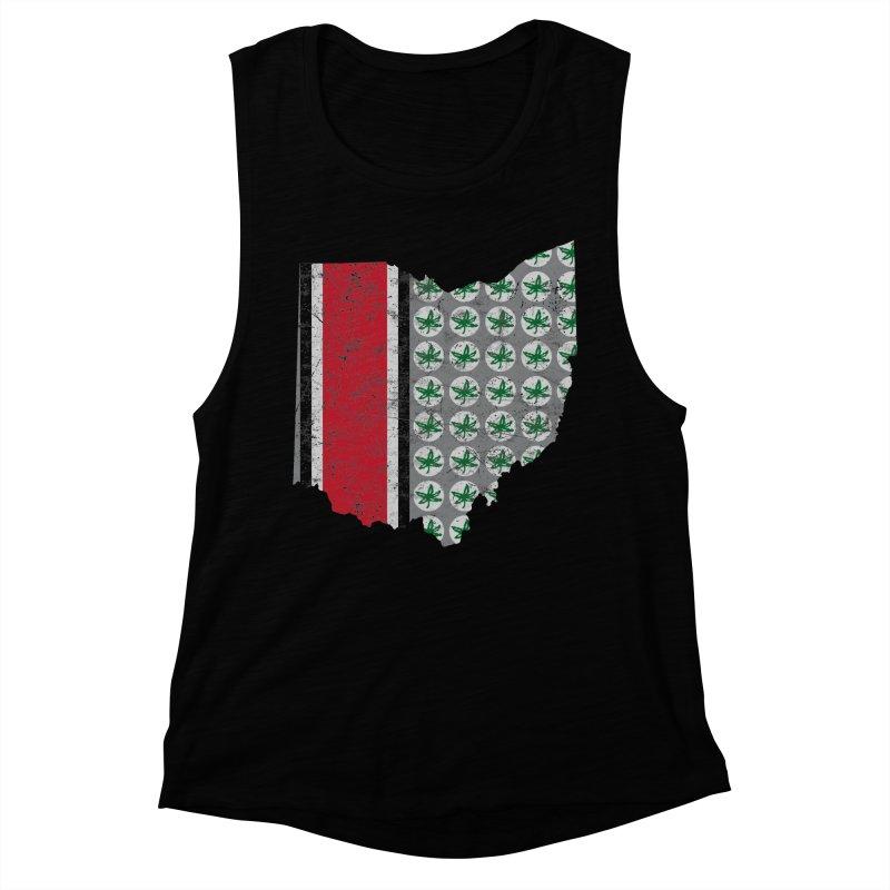 Go Bucks! Women's Muscle Tank by EngineHouse13's Artist Shop