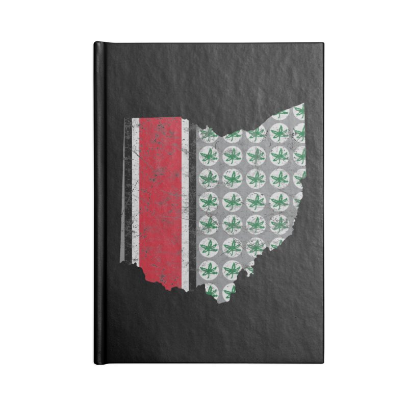Go Bucks! Accessories Lined Journal Notebook by EngineHouse13's Artist Shop