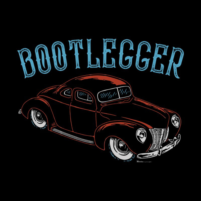 Bootlegger Men's T-Shirt by EngineHouse13's Artist Shop