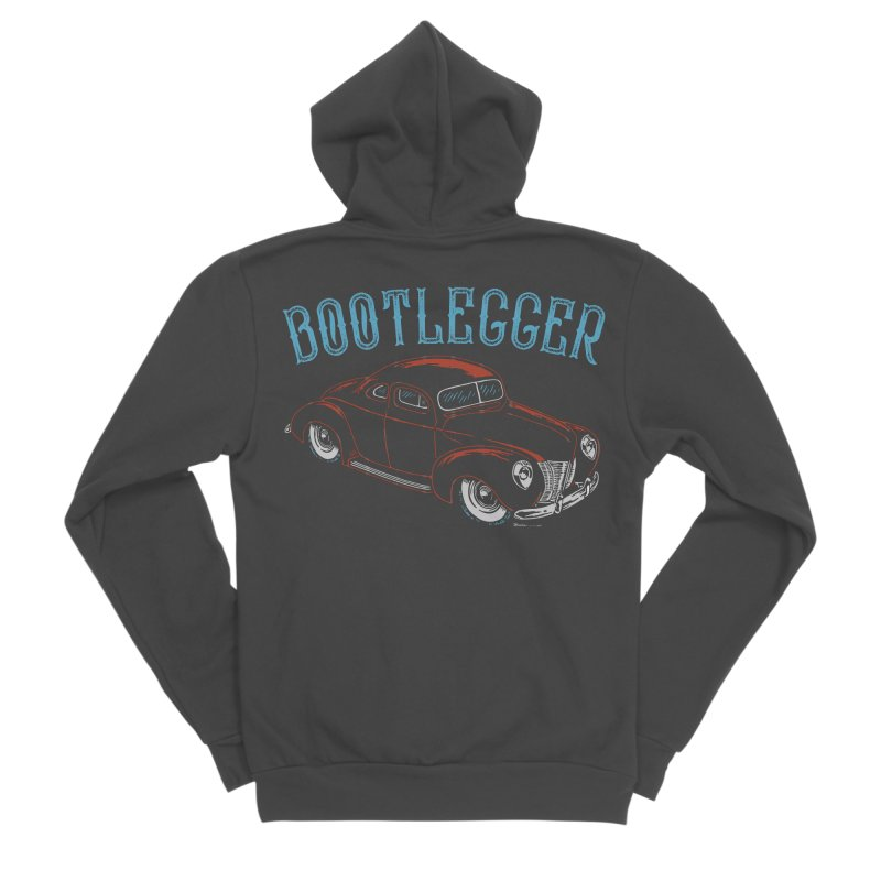 Bootlegger Women's Sponge Fleece Zip-Up Hoody by EngineHouse13's Artist Shop