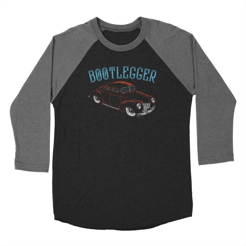 Bootlegger Men's Baseball Triblend Longsleeve T-Shirt by EngineHouse13's Artist Shop