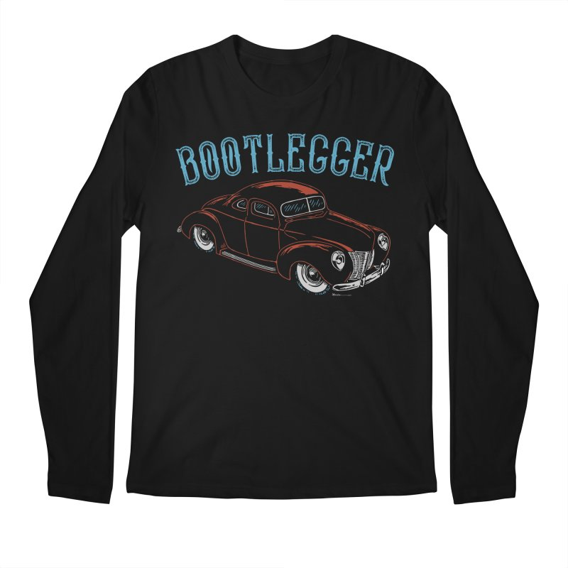 Bootlegger Men's Regular Longsleeve T-Shirt by EngineHouse13's Artist Shop
