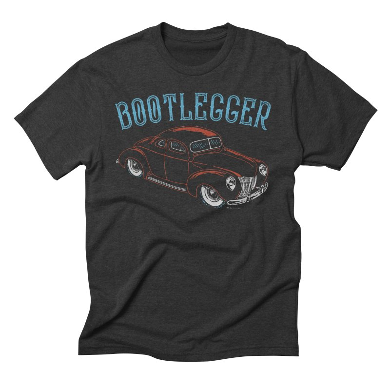 Bootlegger Men's Triblend T-Shirt by EngineHouse13's Artist Shop