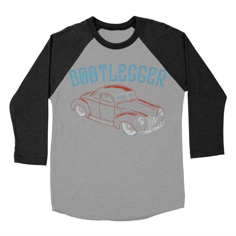 Bootlegger Women's Baseball Triblend Longsleeve T-Shirt by EngineHouse13's Artist Shop