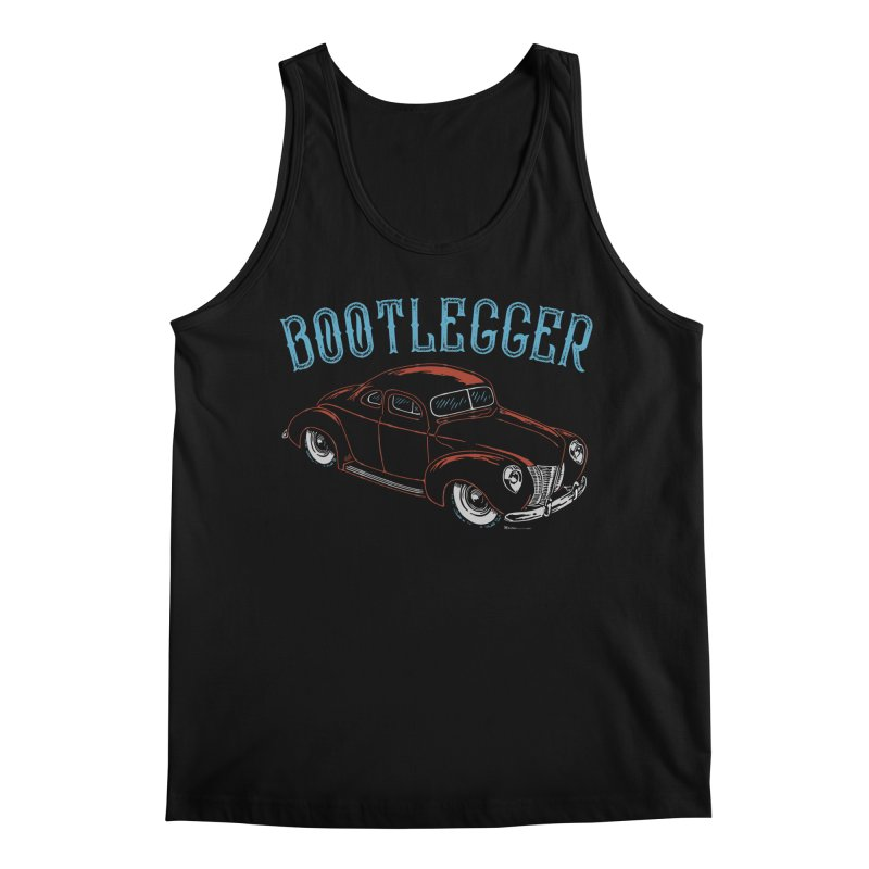 Bootlegger Men's Regular Tank by EngineHouse13's Artist Shop
