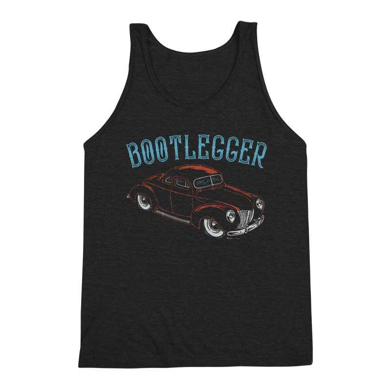 Bootlegger Men's Triblend Tank by EngineHouse13's Artist Shop