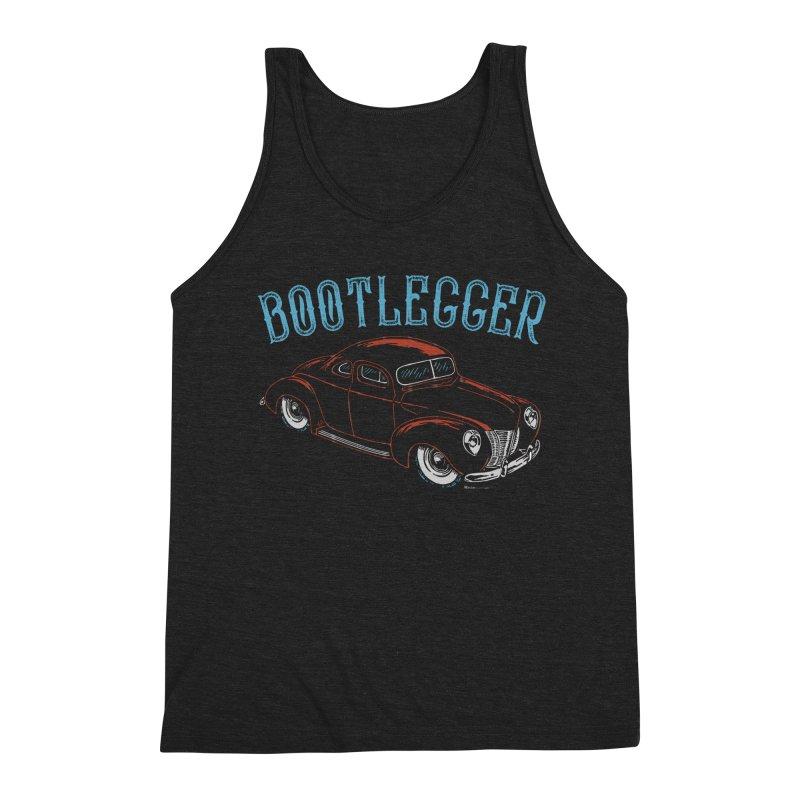 Bootlegger Men's Triblend Tank by EngineHouse13's Artist Shop