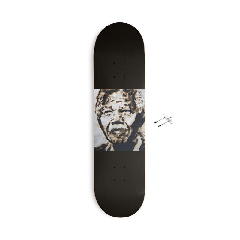 Nelson Mandela by Igor Josifov Accessories Skateboard by Equity International - Arts & Culture's Artist Sho