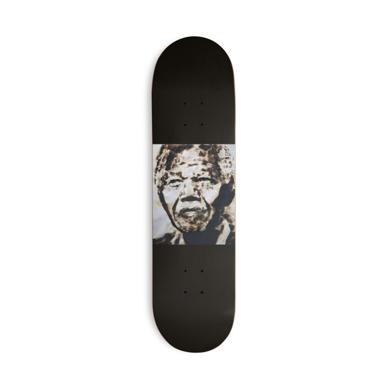 Nelson Mandela by Igor Josifov Accessories Skateboard by Equity International - Arts & Culture's Artist Sho