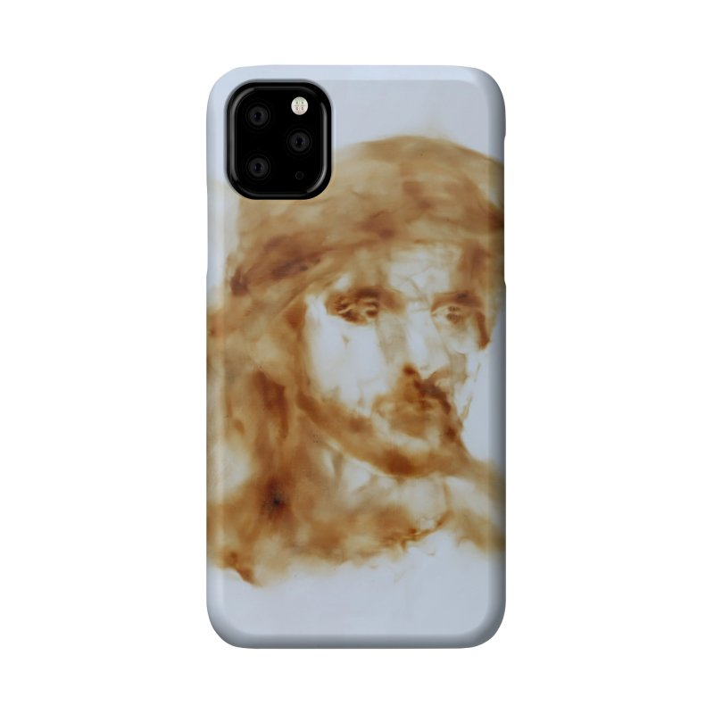 Fazza - Fire reflection on linen by Igor Josifov Accessories Phone Case by Equity International - Arts & Culture's Artist Sho