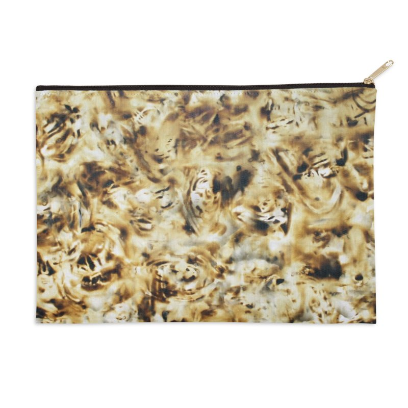 Continuum - Igor Josifov Accessories Zip Pouch by Equity International - Arts & Culture's Artist Sho
