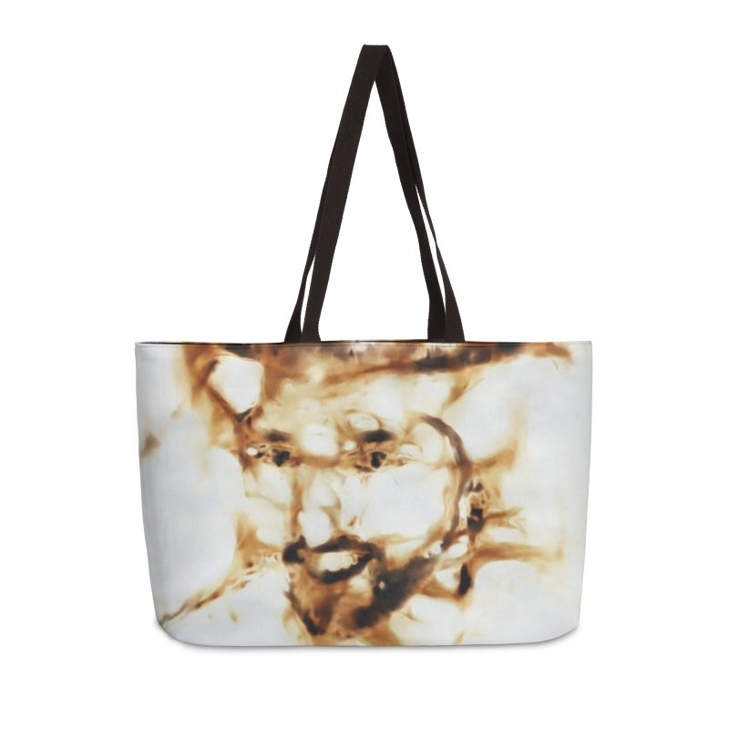 'Fazza' Fire reflection on paper by Igor Josifov Accessories Bag by Equity International - Arts & Culture's Artist Sho