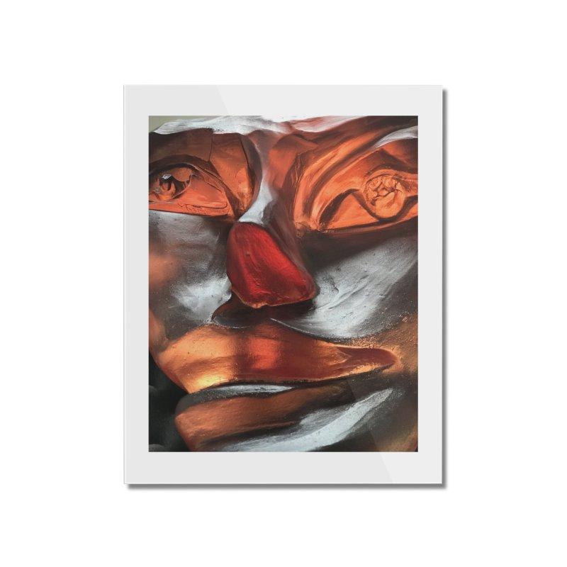 Rhubarb- Igor Josifov Home Mounted Acrylic Print by Equity International - Arts & Culture's Artist Sho